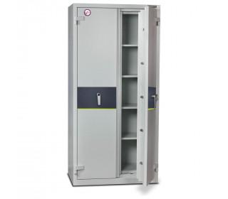 Burton Firesec 4/60/4E Electronic Security Fireproof Cabinet - door ajar