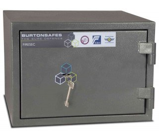£4000 Cash Security Fire Safe - Burton Firesec 4/60/1K closed