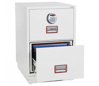 """Phoenix 31"""" Extra deep Vertical Firefile FS2262E 2-Dr Electronic Filing Cabinet"""