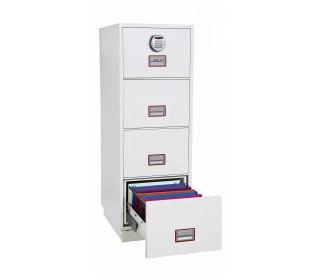 Phoenix Vertical Firefile FS2264E 4-Dr Electronic Filing Cabinet