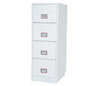 Phoenix Vertical Firefile FS2264K 4-Dr Key Lock Filing Cabinet extra deep drawers