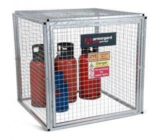 Armorgard GGC4 Gorilla Modular Gas Bottle Cage - Closed