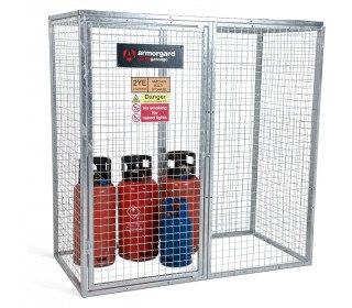 Armorgard GGC7 Gorilla Modular Gas Bottle Cage - Prop