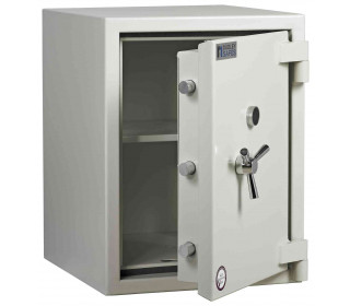 Dudley Europa Size 3 Eurograde 2 £17,500 High Security Fire Safe - door ajar