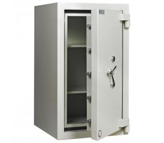 Dudley Europa Eurograde 4 Size 3 Key Lock High Security Safe - door ajar