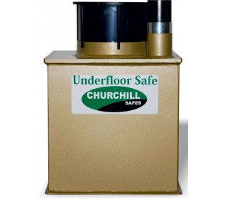 Churchill D4LD Domestic Underfloor Deposit Security Safe