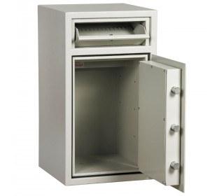 Dudley Hopper CR3000 Size 2 £3000 Cash Deposit Security Safe - door open