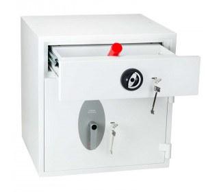 Police Approved £10,000 Cash Deposit Safe - Phoenix Diamond HS1191KD - drawer open
