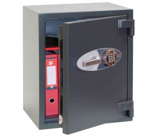 Phoenix Mercury HS2052E Grade 2 Digital Fire Security Safe - door ajar