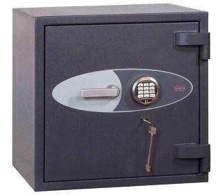 Phoenix Cosmos HS9071E Dual Key & Electronic Locking Eurograde 5 Safe - Closed Door