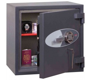 Phoenix Cosmos HS9071E Dual Key & Electronic Locking Eurograde 5 Safe - Open Door