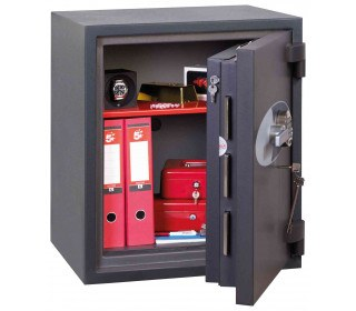Phoenix Cosmos HS9072E Dual Key & Electronic Locking Eurograde 5 Safe - Fully Open Door