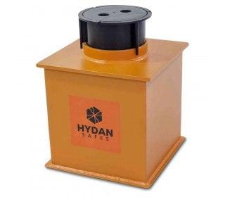 """Hydan Standard Size 2 £4000 Rated 12"""" Round Door Floor Safe"""