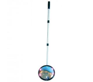 Dancop Convex Inspection Mirror 25cm LED Lights