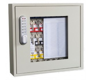 Phoenix Keysure KC0402E Closed with Clear View of adjustable hook bars