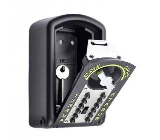 Police Approved - Keyguard Digital XL Mini Key Safe - key safe open with a key
