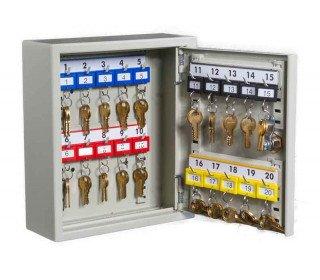 KeySecure KS20 Key Storage Wall Fixed Cabinet 20 Keys - open