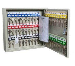 KeySecure KS50 Key Storage Wall Fixed Cabinet 50 Keys - open