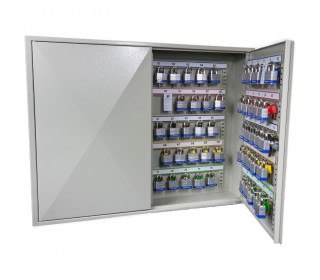 Key Secure KS100P Padlock Storage Cabinet for 100 Padlocks - open