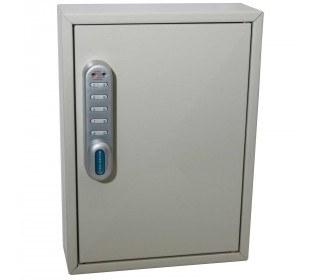 KeySecure KS30 Key Cabinet 30 keys Electronic Cam Lock door closed