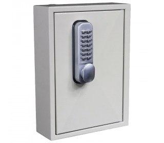 Key Secure KS30MD 30 Hook Mechanical Digital Key Cabinet - Door closede