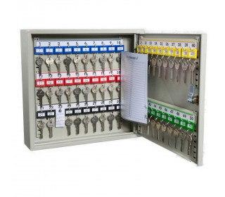 Key Secure KS50 Key Cabinet 50 Hooks Electronic Cam Lock door open
