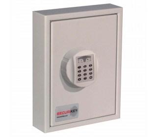 Securikey Key Vault KVP024ZE Key Cabinet Elec 24 Key Bunches
