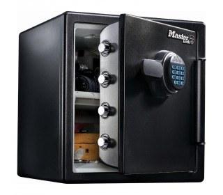 1 Hour Fire Water Digital Safe - Master Lock LFW-123FTC door ajar