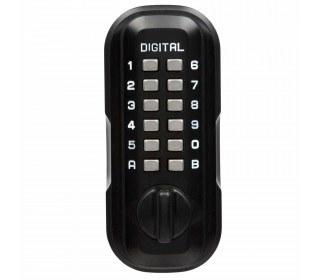 Lockey LKS500/SC Black Digital Large Outdoor Key Safe