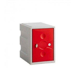 Probe UltraBox Mini Plastic Locker - red