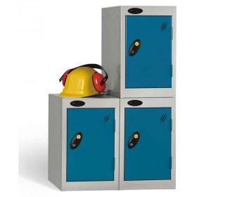 Probe 1 Door Quarto Key Locking Modular Storage Locker blue