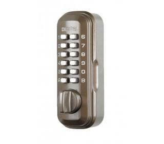 Digital Key Safe Brown 1-2 Keys - Lockey LKS200B