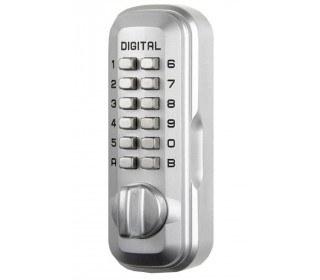 Lockey LKS500SC Satin Chrome Digital Large Key Safe