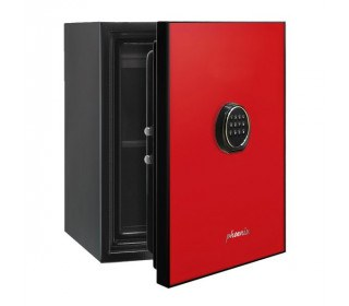 Phoenix Spectrum LS6001ER Red Door Luxury Fire Security Safe