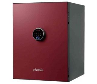 Phoenix Spectrum Plus LS6012FR Burgundy Red 90 min Fire Safe