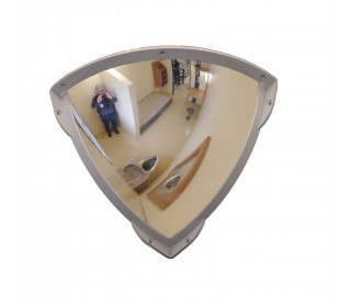 Securikey Duravision Institutional Stainless Anti-Ligature 250x250mm 1/4 Dome