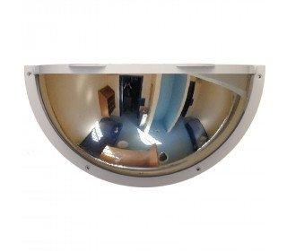 Securikey Anti-Ligature Polycarbonate 1/2 Dome Convex Mirror 600mm