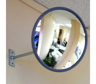 Securikey M18020J Interior Acrylic Convex Wall Mirror 300mm - Retail Shop use