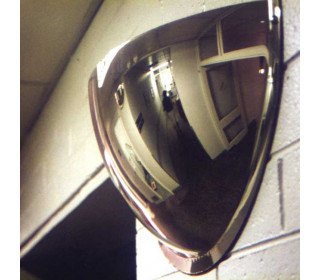 Wide Angle Wall 1/2 Dome Mirror - Securikey 900mm