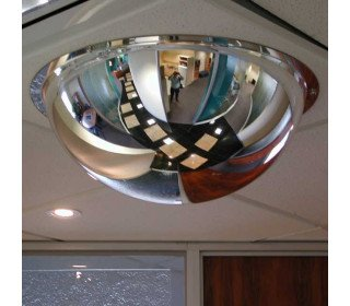 Securikey M18585H Interior Dome Convex Ceiling Mirror 60cm ceiling fixed