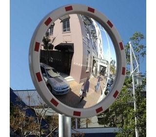Securikey M18666CS Heavy Duty Convex Traffic Mirror 60cm - Front face