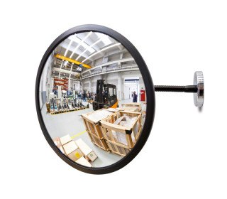 Detective 300mm Magnetic Fixed Convex Acrylic Mirror