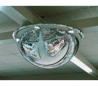 Moravia Panoramic 4 way Vision 125cm Ceiling Dome Mirror