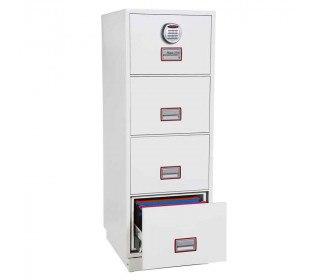 Phoenix Vertical Firefile FS2254E 4-Dr Electronic Filing Cabinet
