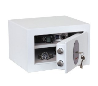 Phoenix Fortress SS1181K Compact Security Safe Key Lock - door ajar