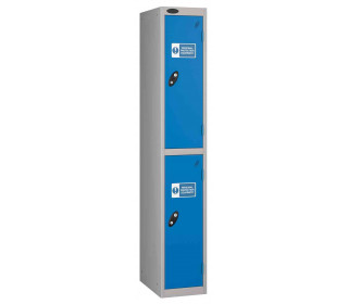Probe PPE 2 Door Personal Protection Equipment Key Locking Locker