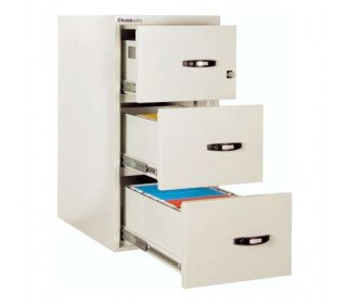 Chubbsafes Fire File 3 Drawer Filing Cabinet 120 minutes fire resistance
