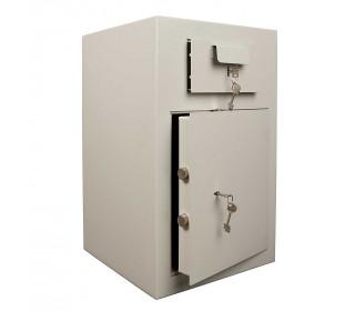 De Raat PT-D3 Key Locking Deposit Safe - doors ajar