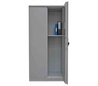 De Raat Protector 2 Door Fire Resistant Security Cupboard door ajar