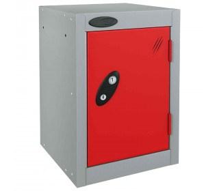 Probe 1 Door Quarto Combination Locking Modular Locker red
